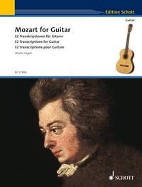 Mozart for Guitar (Hegel) available at Guitar Notes.