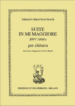 Suite in E BWV1006A (Ghiglia) available at Guitar Notes.
