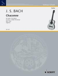 Chaconne, BWV1004(Segovia) available at Guitar Notes.