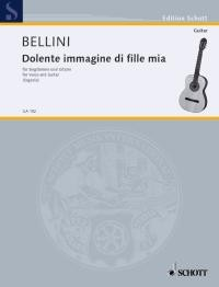 Dolente immagine di fille mia(Segovia) [Med Voc] available at Guitar Notes.
