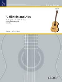 Galliards & Airs available at Guitar Notes.