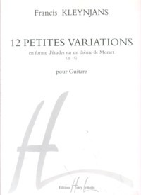 12 Petites Variations, op.152 available at Guitar Notes.