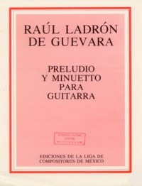 Preludio y Minuetto(Moreno) available at Guitar Notes.