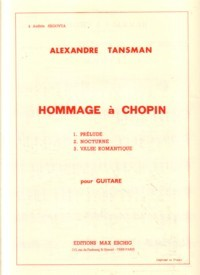Hommage a Chopin available at Guitar Notes.