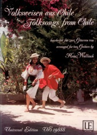 Folksongs from Chile available at Guitar Notes.