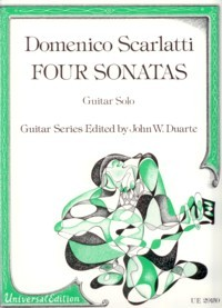 4 Sonatas(Duarte) available at Guitar Notes.
