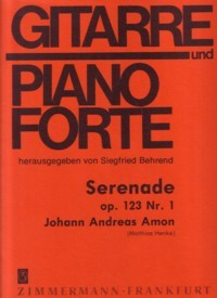 Serenade,op.123/1(Henke) available at Guitar Notes.