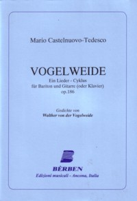 Vogelweide,op.186 available at Guitar Notes.