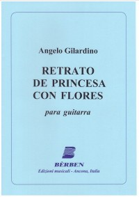 Retrato de Princesa con Flores (Amador) available at Guitar Notes.