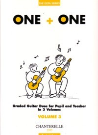 One+One, Vol.3 [Teacher's score] available at Guitar Notes.