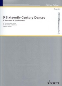 9 Sixteenth Century Dances(Pope/Zweers) available at Guitar Notes.