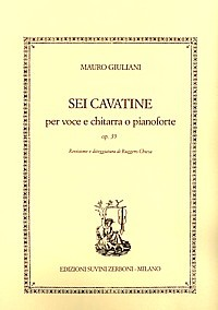 6 Cavatine, op.39(Chiesa) available at Guitar Notes.
