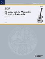 20 Selected Minuets(Gotze) available at Guitar Notes.