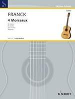 4 Morceaux (Segovia) available at Guitar Notes.