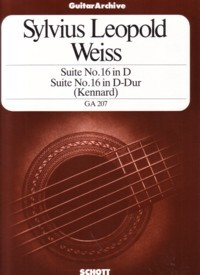 Suite no.16 in D(Kennard) available at Guitar Notes.