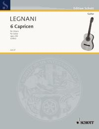 6 Caprices, op.250 available at Guitar Notes.
