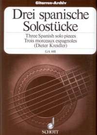 Three Spanish Solo Pieces available at Guitar Notes.