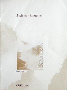 3 African Sketches available at Guitar Notes.