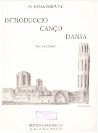 Introduccio, Canco, Dansa available at Guitar Notes.
