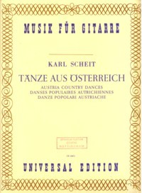 Austrian Country Dances(Scheit) available at Guitar Notes.