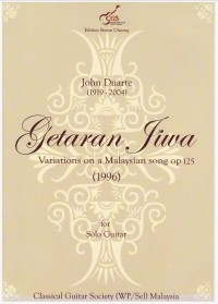 Getaran Jiwa, variations op.125 available at Guitar Notes.