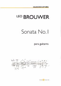 Sonata no.1 [1990] available at Guitar Notes.