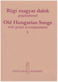 Old Hungarian Songs Vol.1 [Med Voc] available at Guitar Notes.