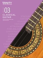 Classical Guitar Exam Pieces 2020-23 Grade 3 available at Guitar Notes.