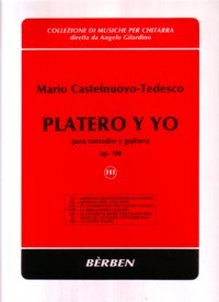 Platero y Yo, Vol.3 available at Guitar Notes.