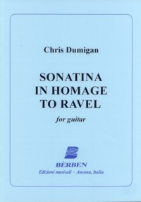 Sonatina in Homage to Ravel available at Guitar Notes.