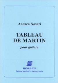 Tableau de Martin available at Guitar Notes.