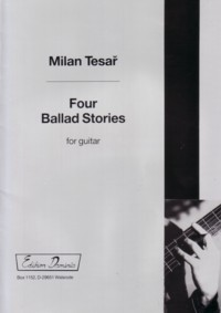 Four Ballad Stories available at Guitar Notes.