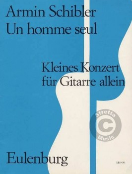 Un homme seul available at Guitar Notes.