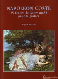 25 Etudes de Genre, op.38 (facsimile) available at Guitar Notes.