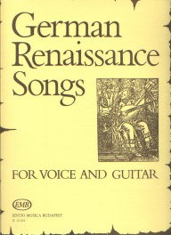 German Renaissance Songs [Med Voc] available at Guitar Notes.