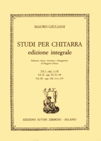 Complete Studies, Vol.1(Chiesa) available at Guitar Notes.