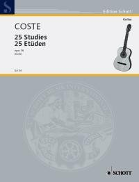 25 Studies, op.38(Koch) available at Guitar Notes.