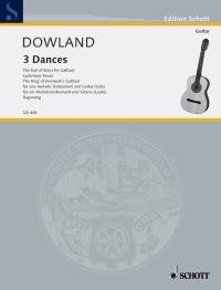 Three Dances(Ragossnig) available at Guitar Notes.