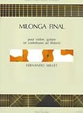 Milonga final available at Guitar Notes.