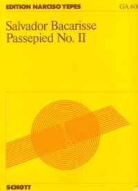 Passapied II(Yepes) available at Guitar Notes.