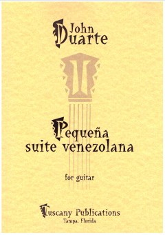 Pequena Suite Venezolana op.141 available at Guitar Notes.