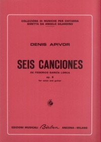 Seis Canciones, op.8 [Med Voc] available at Guitar Notes.