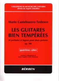 Les Guitares Bien Temperees, op.199: Vol.4 available at Guitar Notes.