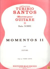 Momentos II(Santos) available at Guitar Notes.