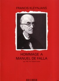 Hommage a Falla, op.118 available at Guitar Notes.