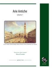 Arie Antiche, vol.1 available at Guitar Notes.