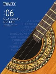 Classical Guitar Exam Pieces 2020-23 Grade 6 available at Guitar Notes.