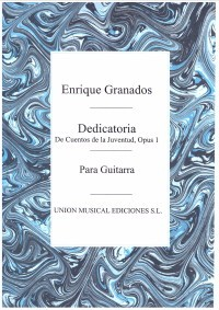 Dedicatoria(Llobet) available at Guitar Notes.