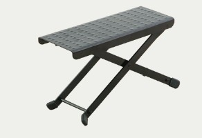 Super Lightweight Footstool available at Guitar Notes.