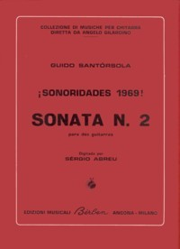 Sonata no.2(Abreu) available at Guitar Notes.